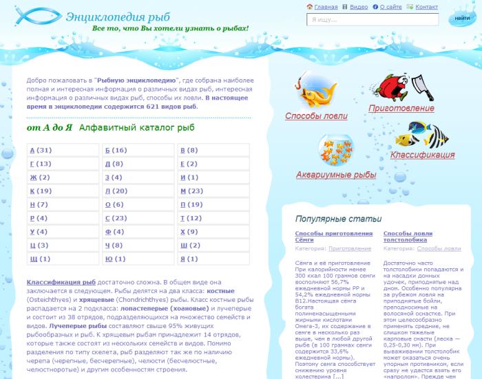 Энциклопедия рыб (fish-book.ru)